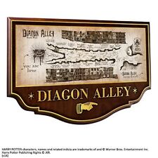 Harry Potter : Diagon Alley Wall Plaque The Noble Collection - New