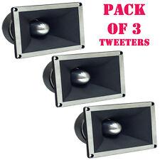 """Pack of (3) Pyle PDBT78 2"""" Titanium Super Tweeters, 350 Watts RMS/700 Watts Peak"""