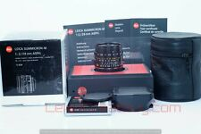 """MINT"" Leica Summicron-M 28mm f/2 Asph. Lens 6-Bit Coded Boxed #4126919"