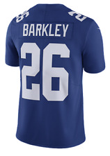 Men's New York Giants Saquon Barkley Navy Vapor Limited Player Jersey XX-Large