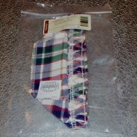 Longaberger Woven Traditions Plaid STUCK ON YOU Basket Liner ~Made in USA~ New!