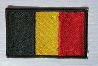 Belgien Belgium Flagge Aufnäher Patch 5 x 8 cm NEU (A54v)