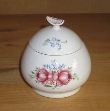 Original Historisch Porzellan 1 Zuckerdose Rose u. Vergißmeinnicht
