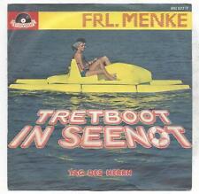 Frl. Menke 1983 - Tretboot in Seenot + Tag des Herrn - VINYL SINGLE