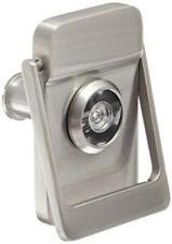 """Rockwood 614V.15 Brass Door Knocker with Door Viewer, 2-1/8"""" Width x 3"""" Height,"""