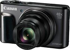 Canon PowerShot sx720 HS FOTOCAMERA COMPATTA 20.3 MP Fotocamera Digitale-Nero OVP & Nuovo