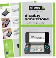 2x Nintendo 2DS XL Film de protection d'écran protecteur antireflet dipos