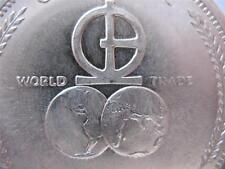 1-OZ.999 1972 SILVER UNIVERSARO WORLD TRADE BARTER COIN 2013 $ CRASH INS + GOLD