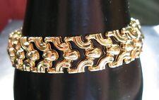 18K YELLOW GOLD BRACELET 16.35 GRAMS 7 1/4 INCHES