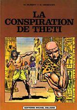 LA CONSPIRATION DE THETI (G. DEDECKER)  EDITIONS MICHEL DELIGNE 1980  RARE TBE