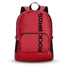ROCKBROS Waterproof Foldable Backpack Hiking Cycling Outdoor Sport Bag Red