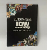 IDW GAMES 2015 Catalogue ~ The Godfather, X Files, TMNT, V Wars, Orphan + MORE