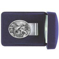 DUCK Money Clip Pintail Solid PEWTER w/Gift Box