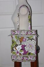NEW Vera Bradley Laptop Travel Tote in Portobello Road NWT DISCONTINUED  Lavender 1c280a123ec08