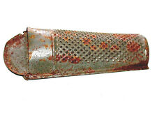 Old Antique Rusted & Rustic Metal Hand Grater