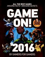*NEW* Game On! 2016 (Paperback) Excellent Condition Feat Stampy - Ships NEXT DAY