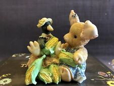 "This Little Piggy ""Nothin Corny Bout You And Me"" 1994 by Enesco Tlp Pig Figurine"