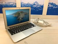 "Apple MacBook Air 2015 11"" Laptop 128GB SSD 1.6GHz 8GB RAM A1465 32 cycles"