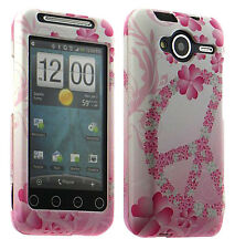 Flower Peace Case Snap Cover for HTC EVO Shift 4G