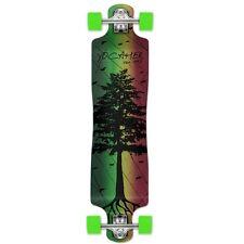 Yocaher Complete In The Pines Series Lowrider Longboard Rasta