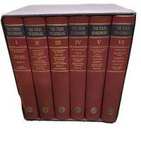 Shakespeare The Complete Plays 6 Volumes I-VI London Folio Society 1988 Slipcase