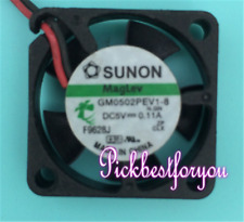 SUNON GM0502PFV1-8 Hard-disk box Cooling fan 5V 0.6W 25*25*10mm 2pin M4552 QL