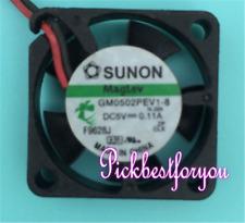 SUNON GM0502PFV1-8 Hard-disk box Cooling fan 5V 0.6W 25*25*10mm 2pin #M4552 QL