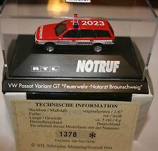 Herpa VW Passat NEF Feuerwehr Braunschweig – Sondermodell in PC