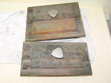 Vecchio Porta Forno und Porta cenere Set 2 pezzi Portello forno,forno