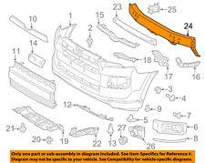 TOYOTA OEM 14-18 4Runner Front Bumper-Reinforcement 5202135151