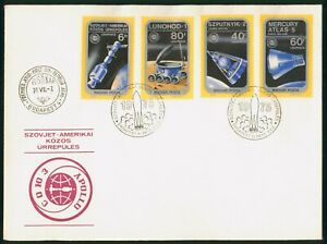 Mayfairstamps Hungary FDC 1975 Spacecraft Combo First Day Cover wwp_51395