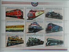 Trains Locomotives railway Guinea 2000 m/s #1 MNH #M006