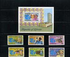 WOMEN''S YEAR >1975 > LIBERIA  {6} + S/S/  >>   N/H