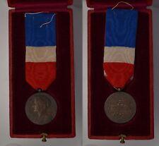 Francia Medaglia al merito del Ministero del Lavoro - 1913 incisa e con scatola