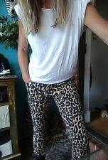 Sass & Bide Leopard Print Pants Jeans sz 29