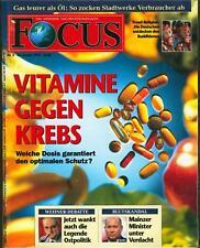Focus 5/1994: Vitamine gegen Krebs/Trend-Religion: Deutsche entdecken Buddhismus