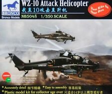 Bronco 1/350th Scale WZ-10 Attack Helicopter Kit No. NB5048 (2 Kits in Box)
