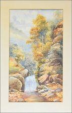 Künstlerische Aquarell-Malereien im Art Nouveau -