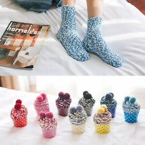 Fluffy Ladies Cupcake Socks Gift Set
