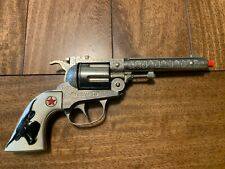 Hubley TEXAN 38 Die Cast Cap Shooter - 1950