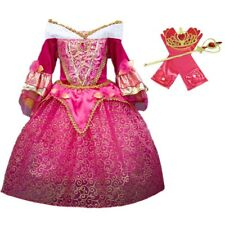 DH Sleeping Beauty Princess Aurora Girls Costume Dress Cosplay Accessories 5-6