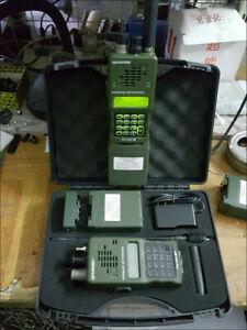 US! TCA AN/PRC-152A MBITR MULTIBAND RADIO Aluminum Handheld VHFUHF Walkie Talkie
