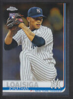 Topps - Chrome 2019 - # 168 Jonathan Loaisiga - New York Yankees RC