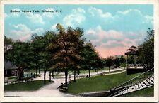 Postcard NJ Hoboken Hudson County Hudson Square Park C.1920 M30