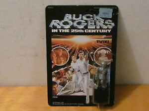 VINTAGE 1979 MEGO BUCK ROGERS ACTION FIGURE (TWIKI) UNPUNCHED CARD