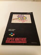 Super nintendo SUPER WIDGET notice manual anleitung PAL