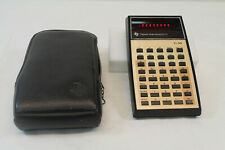 Vintage Texas Instruments TI-30 Scientific Calculator With Protective Case 1970s