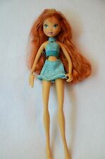 Winx Club First Season Bloom Doll with Original Skirt And Top