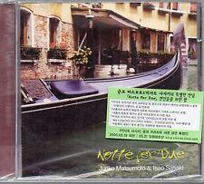 Junko Matsumoto & Isao Sasaki - Notte Per Due *Korea CD **SEALED*  $2.99 S/H