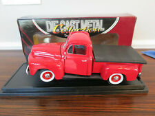 #4 Road Signature Ford 1948 F-1 Red Pick Up Truck 92218 Die-Cast 1:18 Scale